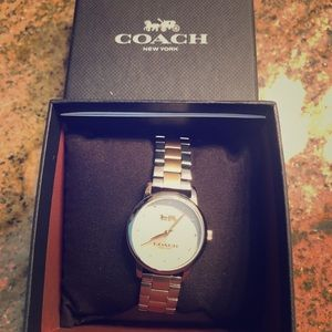 Coach Silver & Gold Two Tone Watch